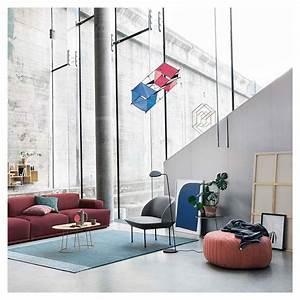 five pouf contemporain tissu et mousse muuto With nettoyage tapis avec canapé connect muuto
