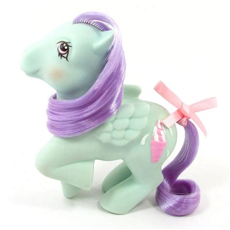g1 ponies sundae peppermint pony mlp crunch six