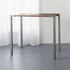 "Stilt 42"" High Top Breakfast Table + Reviews  Cb2"