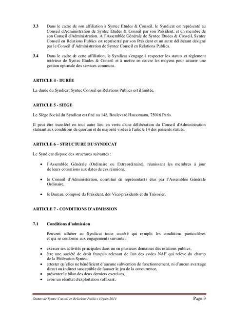 cadre forfait jour syntec statuts de syntec rp