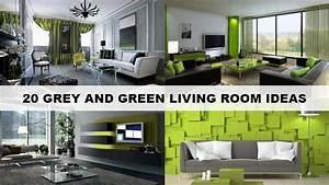 Green Living Room Designs
