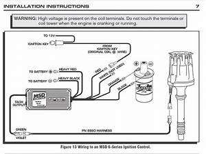 Wiring Diagram Msd 6al Ignition Box To Coil  U2013 Readingrat In Msd Wiring Diagram
