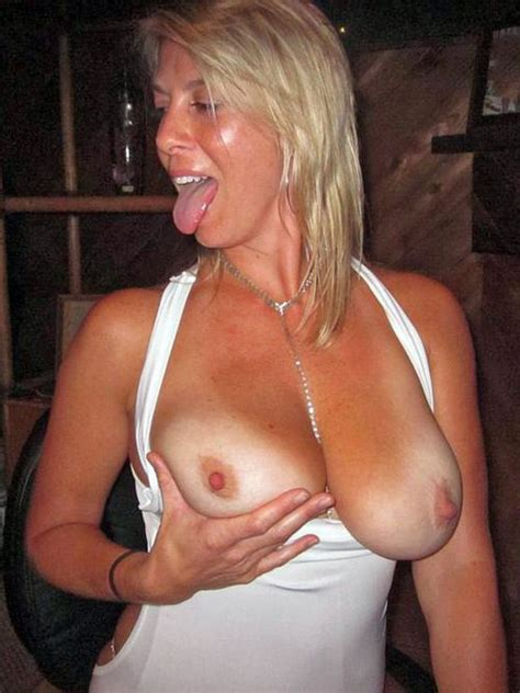 Danish Milf Tongue And Boobs Out Milf Update
