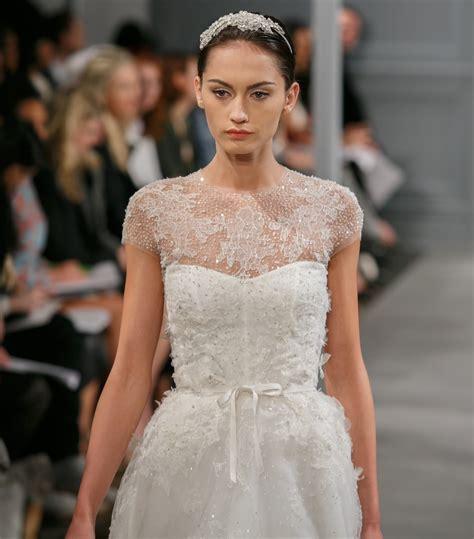 Monique Lhuillier Illusion Size 0 Wedding Dress