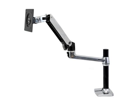 monitor arm desk mount ergotron lx pole desk mount lcd monitor arm