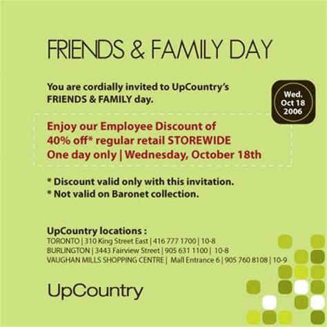 upcountry friends and family furniture sale canadian