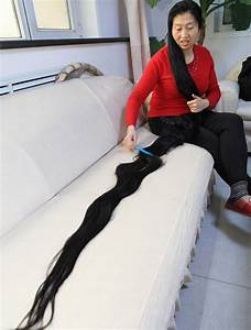 55-Year-Old Chinese Woman Wants Record for World's Longest ...