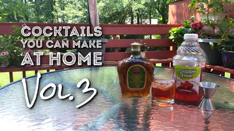 Cocktails To Make At Home, Vol 3  Twin Cities Agenda