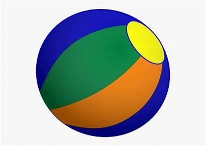 Ball Circle Bondi Clipart Balls Cartoon Netclipart
