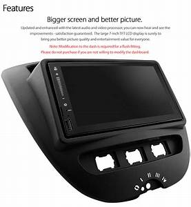 Android Car Mp3 Player For Toyota Aygo Peugeot 107 Stereo