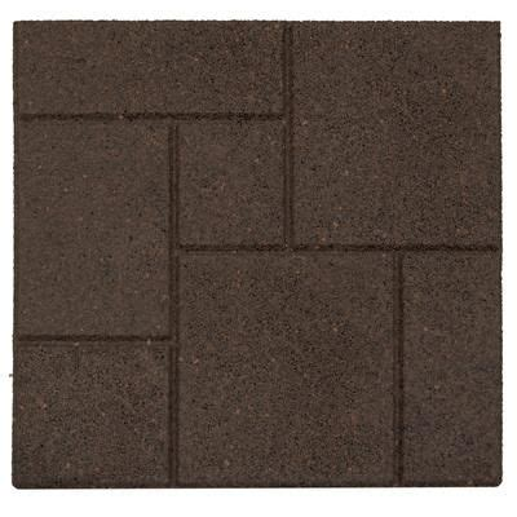 envirotile cobblestone envirotile earth 18 inch x 18