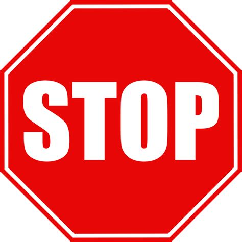 stop sign the top 5 most imortant traffic signs sprint driving school