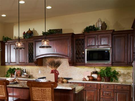 above kitchen cabinet ideas ideas for decorating above kitchen cabinets slideshow