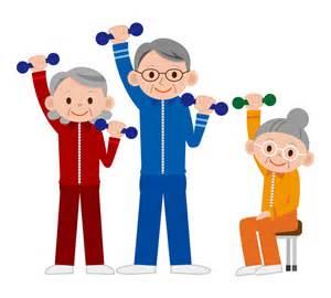 Senior Exercise Clip Art Free