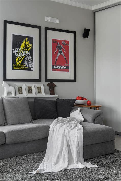 small bachelor pad idea designed   modern retro style homesthetics inspiring ideas
