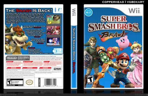 Super Smash Bros Brawl Wii Box Art Cover By Copperhead