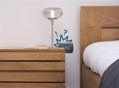 impianto elettrico da letto come posizionare le prese in da letto