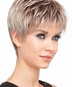Coupe Cheveux Gris Femme 60 Ans : coupe cheveux court pour femme 60 ans ~ Melissatoandfro.com Idées de Décoration