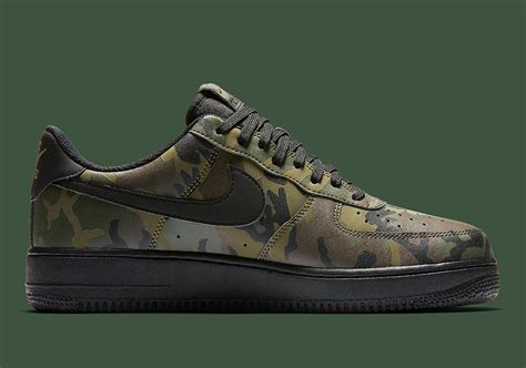 The Nike Air Force 1 One Low Jungle Camo 3m Reflective Is