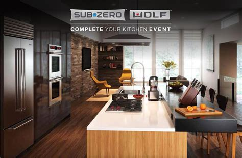 Your Kitchen by Wolf Sub Zero Appliances Complete Your Kitchen Promotion