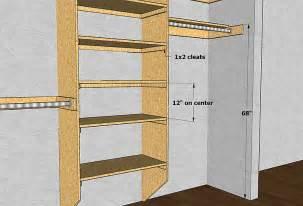 Closet Shelving Heights by Gary Katz Online