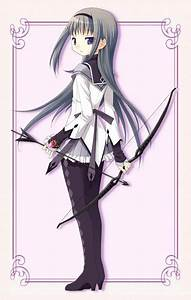 Cool anime gal 101: Homura Akemi - Junketsu Paradox