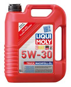 truck top up oil 5w 30