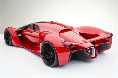 Ferrari F80 Supercar Concept Mashinsport