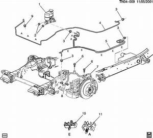 2000 Chevy Silverado Brake Line Diagram