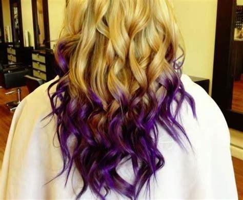 1000+ Ideas About Purple Dip Dye On Pinterest