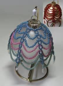 Free Christmas Beaded Ornament Cover Patterns