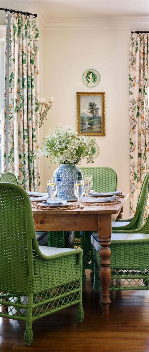 Nashville Home Pretty Color And Pattern by Nashville Home With Pretty Color And Pattern Dining Room