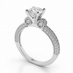 15 inspirations of vintage wedding rings settings for Vintage wedding ring settings