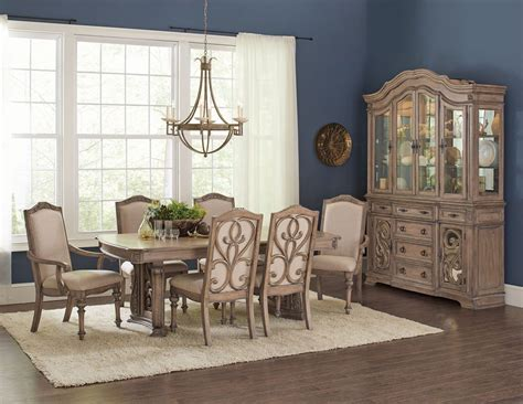 Ilana Antique Linen Dining Room Set From Coaster  Coleman