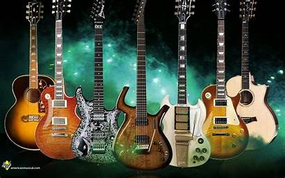 Rock Roll Guitar Wallpapers Guitarist Background Backgrounds
