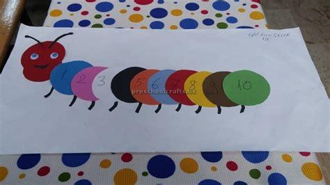 numbers crafts for preschoolers number theme craft idea for kindergarten preschool crafts 688