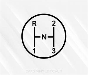 3 On The Tree Decal Gear Diagram Decal