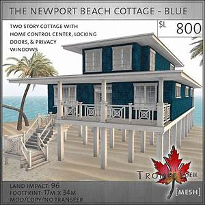 Second Life Marketplace - Trompe Loeil - The Newport Beach