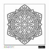 Mandala Coloring Pages Square Advanced Printable Nature Adults Awesome Print Brace Laura Sheets Intricate Level Adult Shapes Getcolorings sketch template