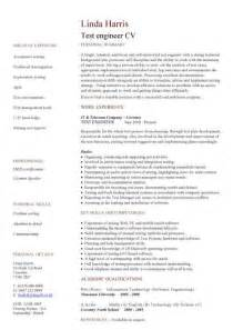 Mechanical Quality Engineer Resume Pdf by Engineering Cv Template Engineer Manufacturing Resume Industry Construction