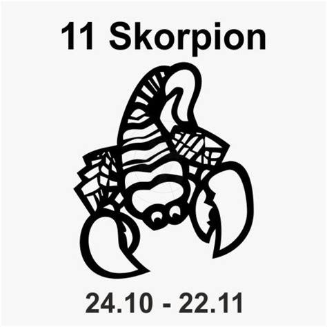 Skorpion Sternzeichen Monat by Sternzeichen Comic Aufkleber Sticker Und Folien F 252 R