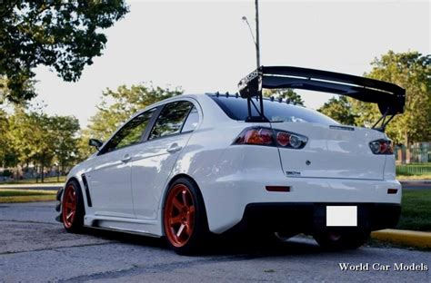 modified mitsubishi lancer white mitsubishi lancer custom wallpaper