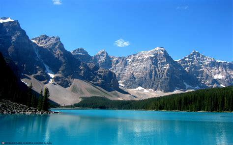 Mountain Lake Wallpaper Wallpapersafari