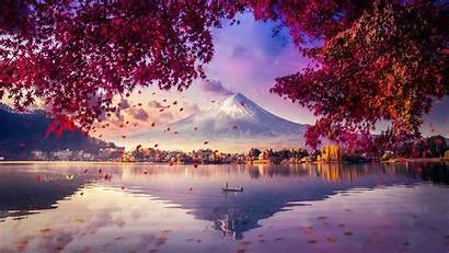 4k Fuji Mount Mesmerising Digital Wallpapers Artwork