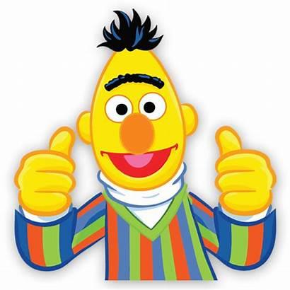 Sesame Bert Street Clipart Transparent Sesamo Face