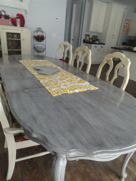 Refinishing My Kitchen Table  Home Decor Pinterest