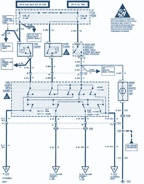 2001 Buick Park Avenue Wiring Diagram by 1995 Buick Park Avenue Wiring Diagram Auto Wiring Diagrams