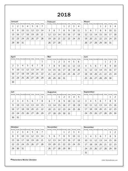kalender  mz kalender verjaardagskalender en prints