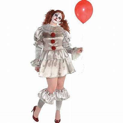 Pennywise Costume Plus Womens Costumes Adult Female