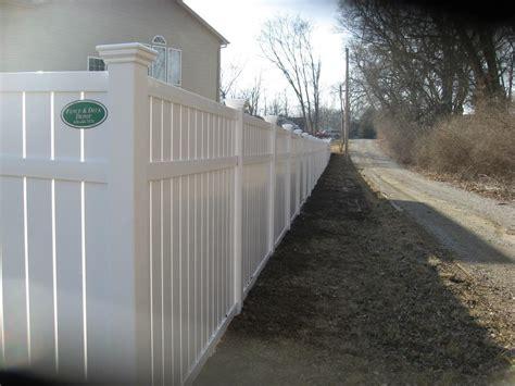 fencing vinyl fence design gallery semi private